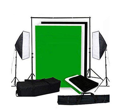 Prime Day Oferta (-20%) MVpower 2X 50x70cm Kit softbox Iluminación continua para...