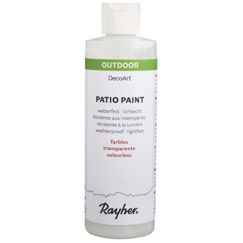 Patio Stein (RAYHER 38611702, Patio-Paint, Flasche 236 ml, farblos)