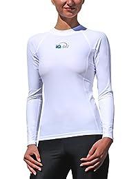 T-shirt slim manches longues iQ UV 300, vêtement anti-UV