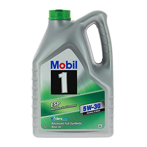 Mobil 1 154296 ESP 5W-30 Hochleistungsmotorenöl, 5 L