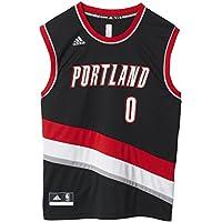 Adidas INT Replica JRSY Camiseta de Baloncesto NBA Portland Trail Blazers, Hombre, Azul,