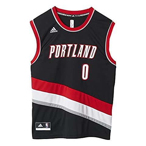 Adidas Men's Basketball Trail Blazers Replica Player Jersey, Men, Basketball