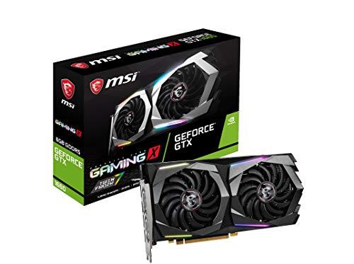 MSI GeForce GTX 1660 GAMING X 6G. Familia de procesadores de gráficos: NVIDIA. Capacidad memoria de adaptador gráfico: 6 GB, Tipo de memoria de adaptador gráfico: GDDR5, Ancho de datos: 192 bit, Velocidad de memoria del reloj: 8000 MHz. Máxima resolu...