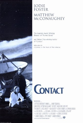 Contact Plakat Movie Poster (27 x 40 Inches - 69cm x 102cm) (1997) B