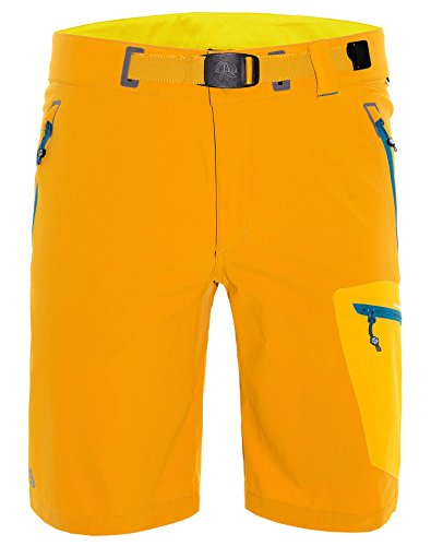 Ternua Komati Hosen für Herren, zum Wandern und Bergsteigen geeignet XL Gelb (mustard)