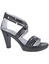 Nero Giardini Sandalo Donna in Pelle P106231D (Softy Bianco, 40)