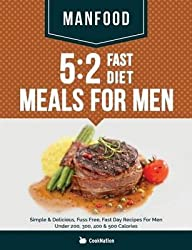 [(Manfood : 5:2 Fast Diet Meals for Men: Simple & Delicious, Fuss Free, Fast Day Recipes for Men Under 200, 300, 400 & 500 Calories)] [By (author) Cooknation] published on (November, 2014)