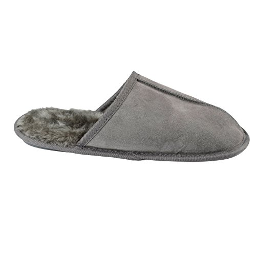 XS-Stock , Chaussons pour homme Gris