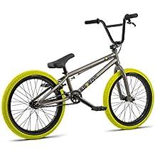 Radio Bikes Saiko Bicicleta BMX, Gris, 19.25