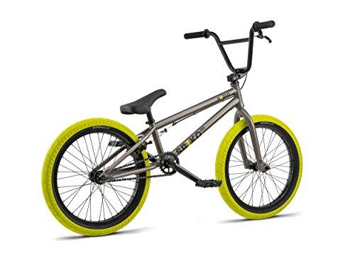 "RADIO BIKES Saiko Bicicletta BMX, Grigio, 20,6"""