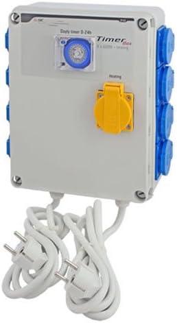 Minuterie / Programmateur GSE Timer 8x600w Box 8x600w Timer  Chauffage (GSE-12C) 9e4728