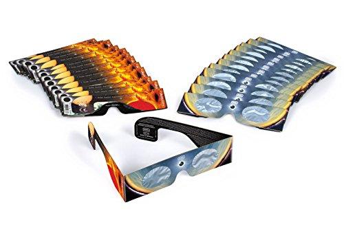 Baader Planetarium Solar Viewer AstroSolar Silver/Gold Sonnenfinsternisbrille / Sofi-Brille / Sonnensichtbrille - 25 Stück