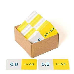 Learn Well Dominó de decimales T1018 - Sustracción básica