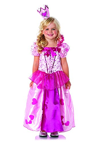 (Leg Avenue C49099 - Sweetheart Princess Kinderkostüm, X-Small (3T-4T) (Rosa))