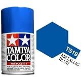 Tamiya 85019. Spray TS-19. Pintura esmalte color Azul Metalizado