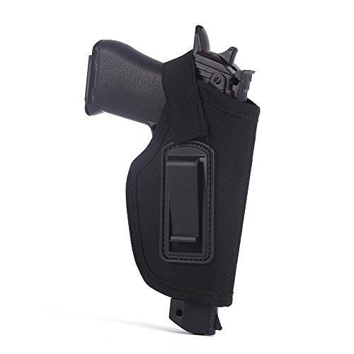 Etopfashion Tactical verborgen innerhalb des Bund-Gurt-Pistolen-Pistolenhalfter Passt zu Glock 26, 27, 30, 43, 40, 45 Auto, Ruger LC9, LC380 und ähnliche Größen-kompakte und subkompakte Pistolen -