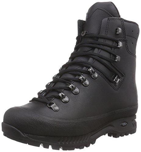 Hanwag Yukon, Chaussures de Trekking et Randonn&EacuteE Homme Noir - Schwarz (Schwarz_Black 12)
