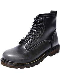 1915169f0f127 S H-NEEDRA Chaussures Hommes, Haute Qualité Cuir Hommes Bottes Bottes Hiver  ImperméAbles Bottes De