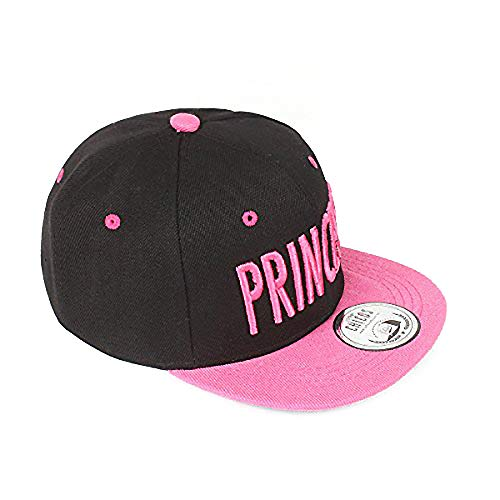 Johnny Chicos NY New York süße Kindercap Kinder Cap Snapback 46-56cm Kopfumfang (One Size, Princess Pink)