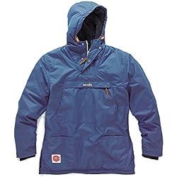 Scruffs Vintage Oth Sherpa, Chaqueta para Hombre, Azul (pewter), XXL