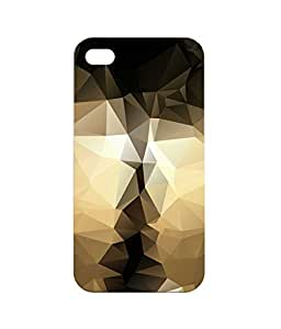 Dzinetree Back Cover for Apple Iphone 4s - Black