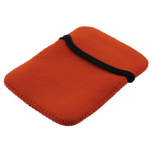 Premium Neopren Tasche orange für alle Tablets / Tablet-PCs mit 6 Zoll-Displayformat, z.B. Asus FonePad Note FHD6 / Archos 35 Internet Tablet 4GB (501733) / 5 60GB / Coby Kyros 4.3