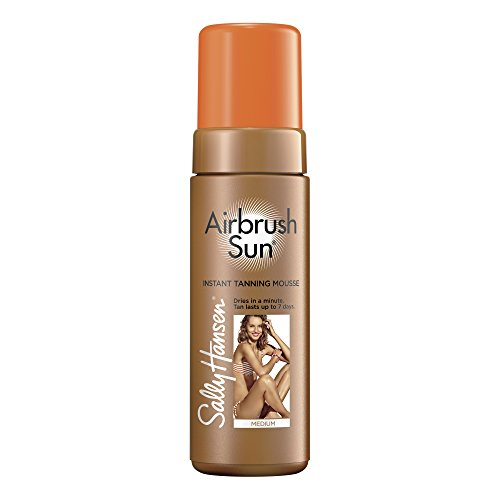 SALLY HANSEN Airbrush Sun Tanning Mousse - Medium (Tanning Wash Body)