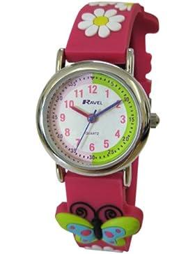 Ravel Unisex-Armbanduhr Analog Kunststoff mehrfarbig R1513.50