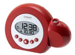 Oregon Scientific RM303R ColourBerry Projection Clock, Red