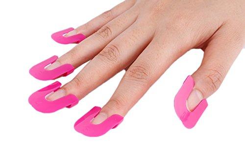 TININNA 26pcs Impermeable dedo manicura uñas polaco