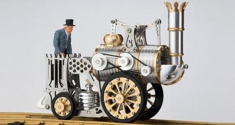 Böhm Stirling Technik Heißluft/Stirling Modell Wissenschaftliches Spielzeug HB-L1, Fertigmodell