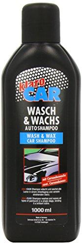 Preisvergleich Produktbild 1 Liter KlaroCar Wasch&Wachs mit Carnaubawachs