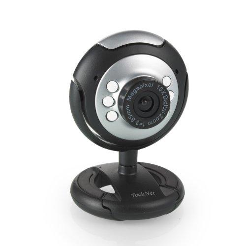 TeckNet C016 720P Webcam de alta definición con conector USB (30 fps,