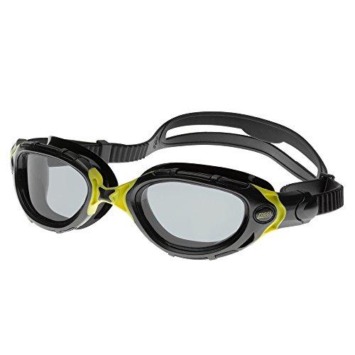 Zoggs Schwimmbrille Predator Flex schwarz/smoke Taucherbrille Anti-Fog Beschichtung
