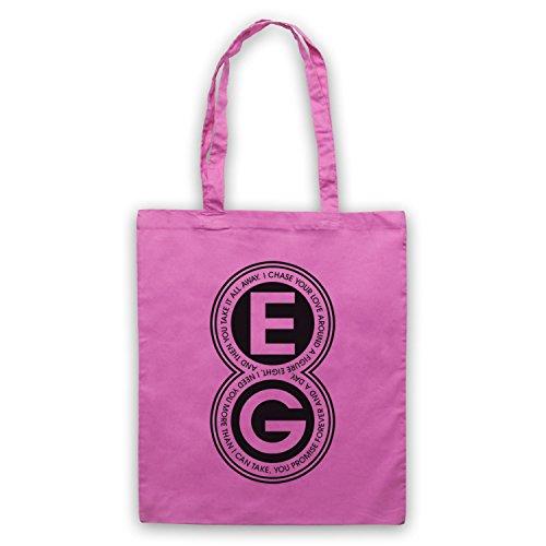 Inspiriert durch Ellie Goulding Figure Eight Inoffiziell Umhangetaschen Rosa