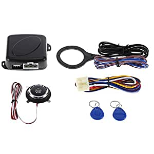 KMOON RFID ABS Car Engine Ignition Push Start Stop: Amazon.in: Electronics