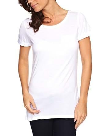 Esprit F21689 Women's T-Shirt White XX-Large