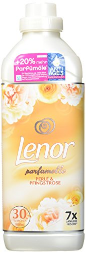 Lenor Weichspüler Perle und Pfingstrose, 6er Pack (6 x 900 ml)