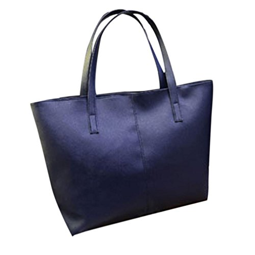 sac-main-feitong-mode-femmes-faux-cuir-sac-main-sac-dpaule-fourre-tout-bourse-sac-de-messager-bleu