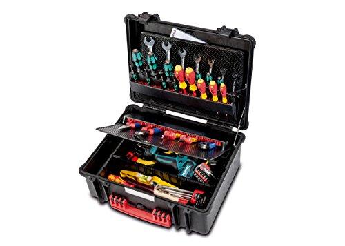 PARAT 6480.101-391 PARAPRO Werkzeugkoffer mit CP-7 Werkzeughalter, schwarz (Ohne Inhalt)