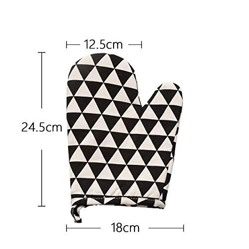 Thick Anti-Verbrühende Handschuhe Verdickung Plus Baumwolle Isolierung Dampf Hochtemperaturbeständige rutschfeste Haushaltsküche Wesentliche Anti-Verbrühende Handschuhe Safe -
