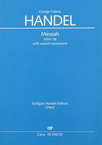 Messiah (Klavierauszug englisch): mit Variantensätzen. HWV 56, 1742