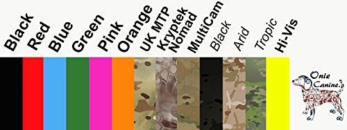 Onie Hunde-Militärische behandeln Taschen mit Taille Gürtel Befestigung UK Made (Befestigung Taille)