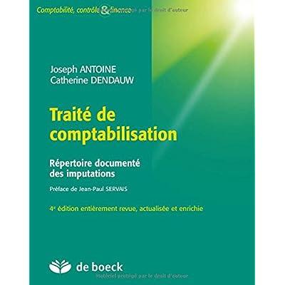Traité de comptabilisation : Répertoire documenté des imputations