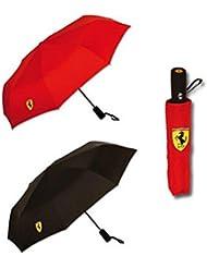 Ferrari paraguas plegable rojo