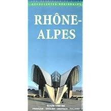 Carte routière : Rhône-Alpes