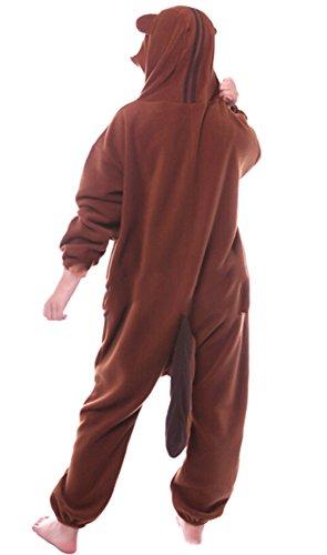 Imagen de dato ropa de dormir pijama ardillas cosplay disfraz animal unisexo adulto alternativa