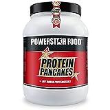 PROTEIN PANCAKES - leckere Low Carb Pfannkuchen-Mischung mit hohem Anteil an WHEY-PROTEIN - perfekt als Frühstück oder Zwischenmahlzeit - 1000g Pulver à 40 Pancakes - MADE IN GERMANY (Natur, 1000g Dose)