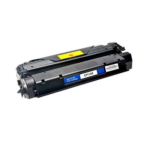 Hp Micr-laser Toner (Logic-Seek Toner kompatibel zu HP C7115X 15X Laserjet 1000 1200 Serie - Schwarz, 4.000 Seiten)