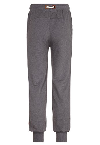 Naketano Male Pants Auf dicke Hose Dark Grey Melange